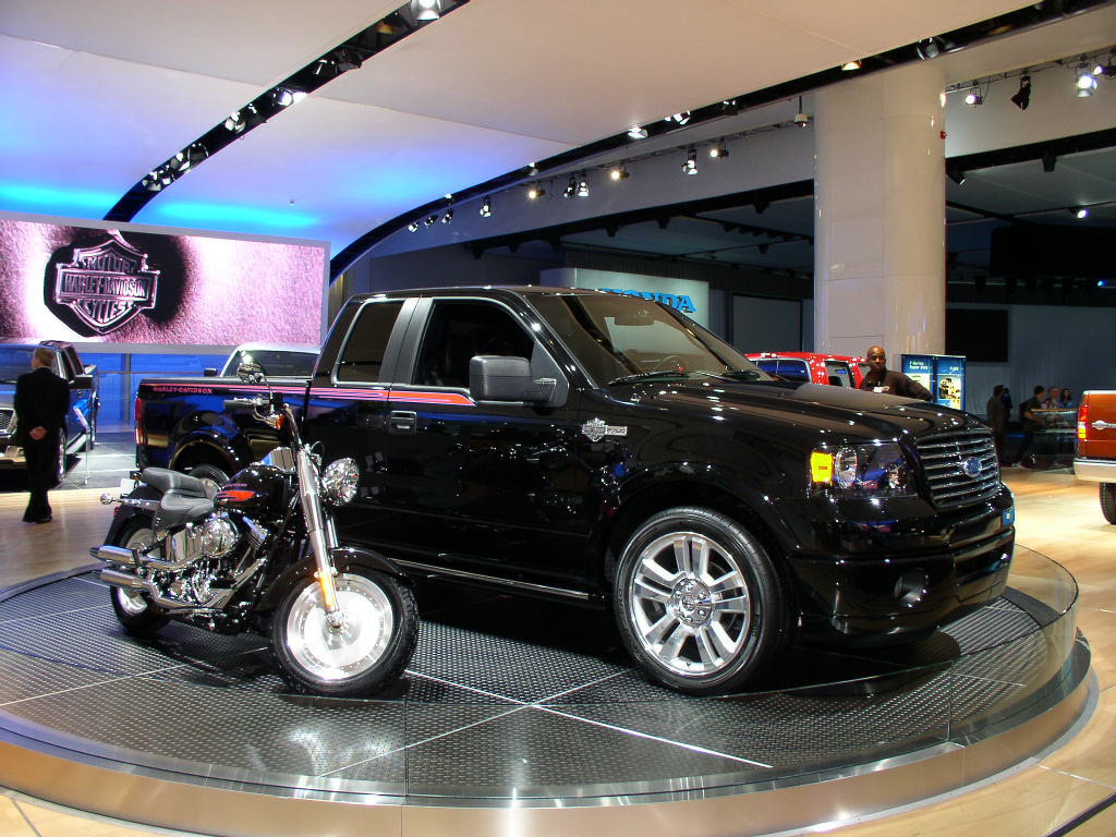 Automotive Trends Harley Davidson F150 2006 Ford F 150