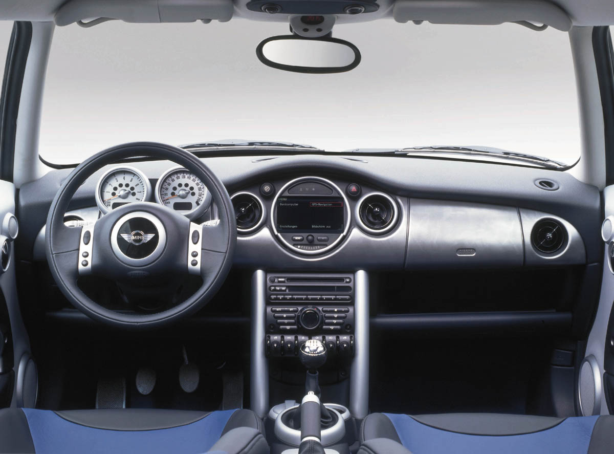 That Quirky European Style Is Carried Into The Cabin As Well A Frisbee Sized Sdometer Mounted In Center Of Dash Not Behind Steering
