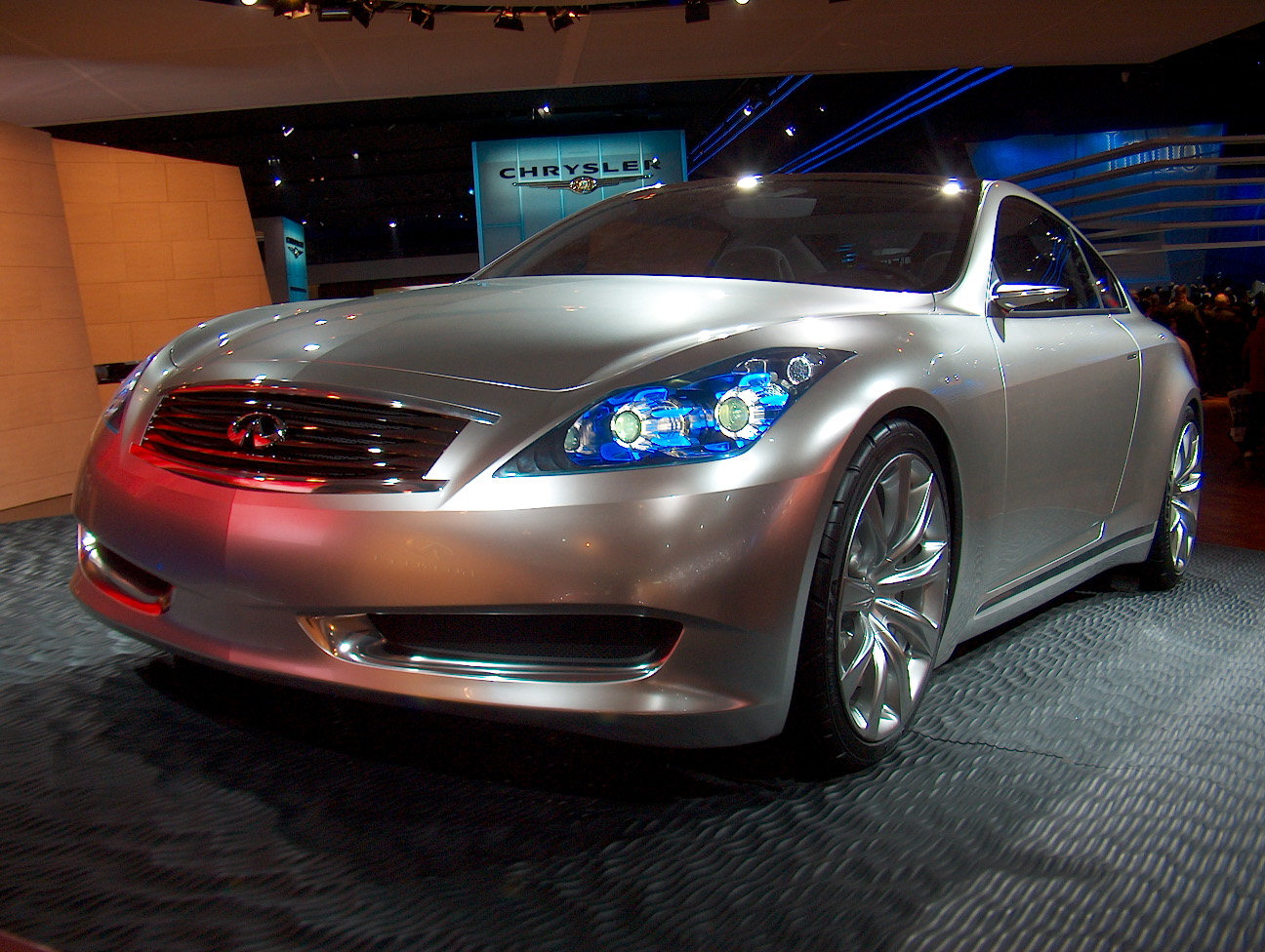 Automotive trends infiniti the infiniti coupe concept vanachro Image collections