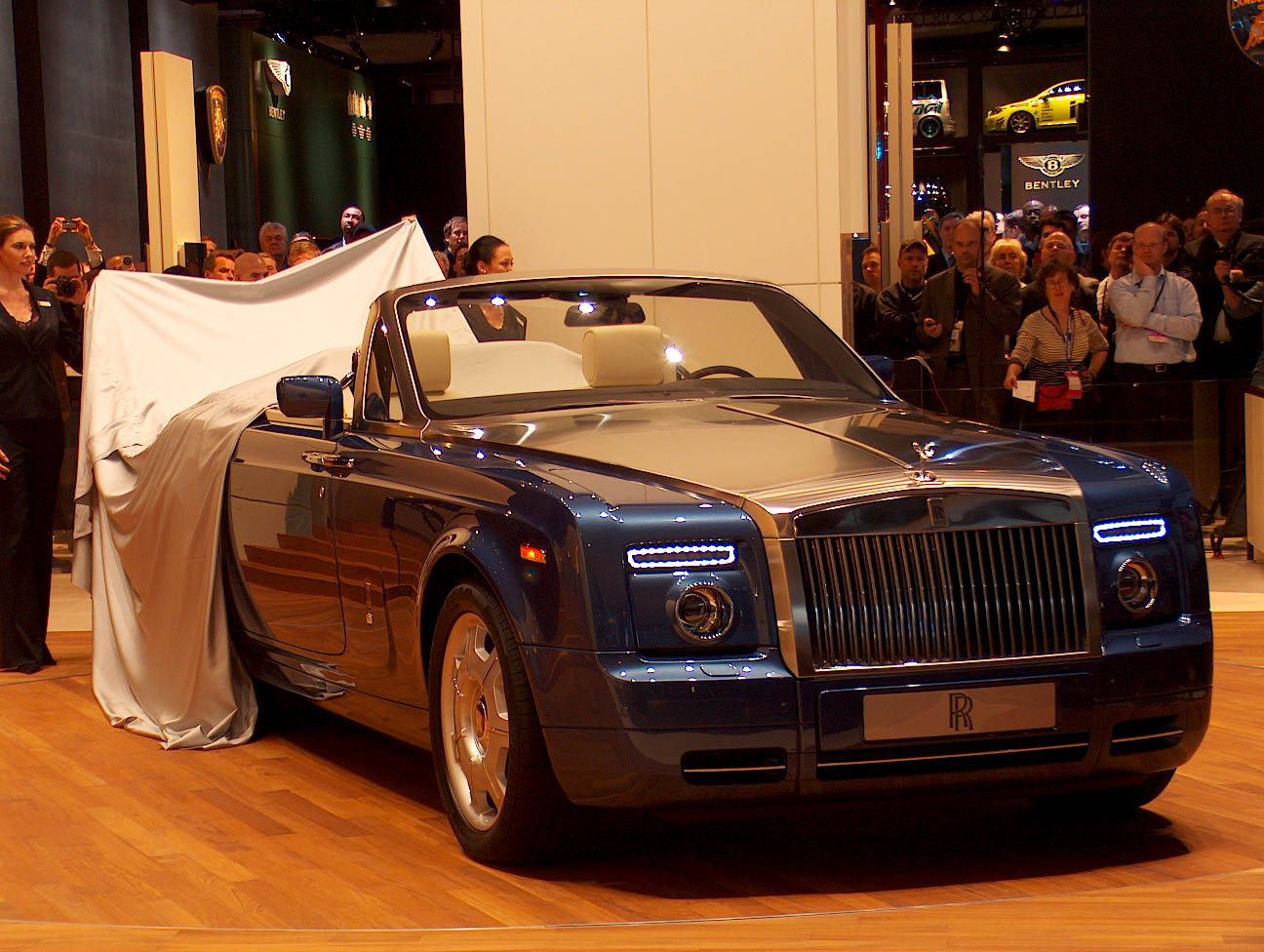 The Rolls-Royce Phantom