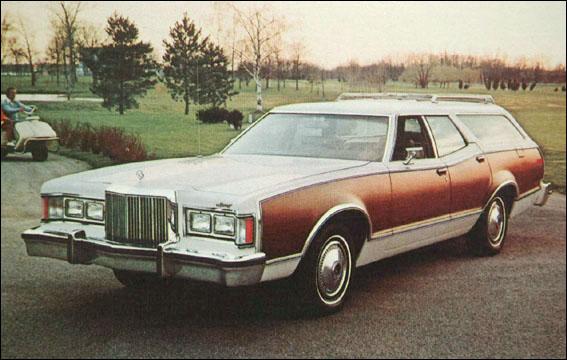 1978 Mercury Cougar wagon